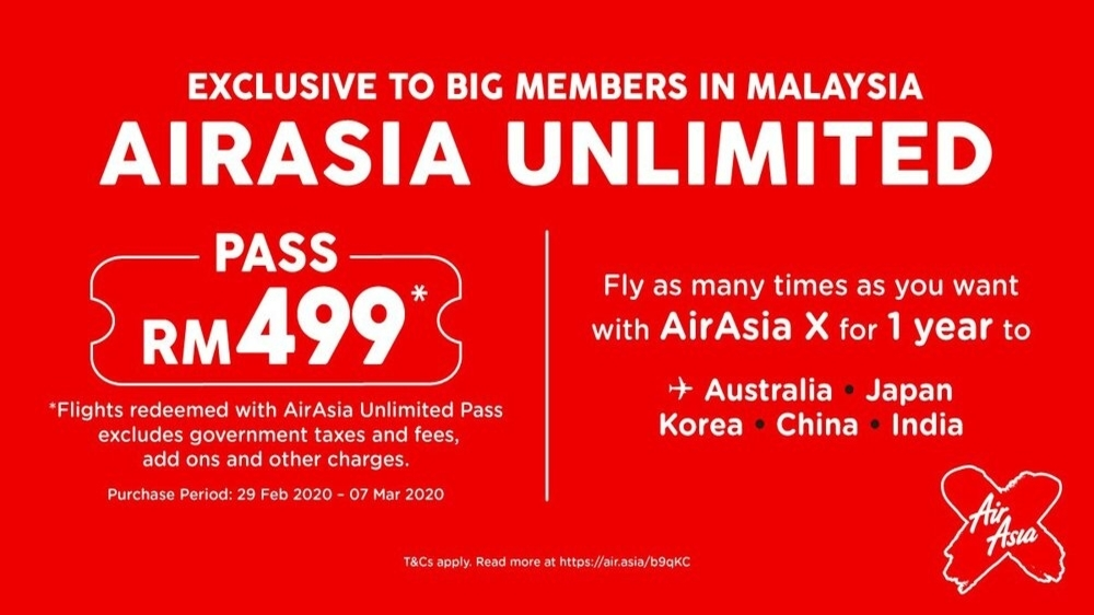 Air-Asia-Unlimited-Flight-Pass-RM499-Covid-19
